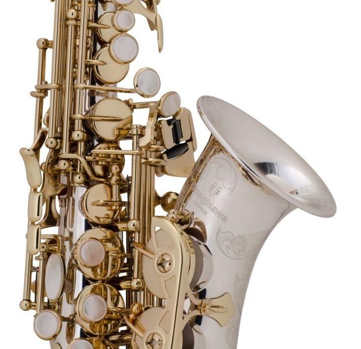 Yanagisawa SC9937 Curved Soprano Sax – Solid Silver Series