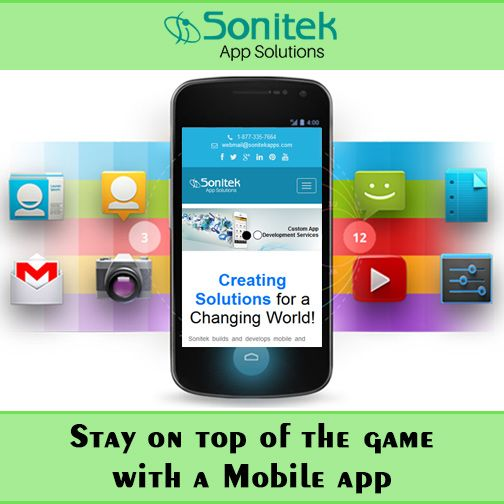 Invest in Apps Development to Lead the Market!! Know more here: www.sonitekapps.in  #sonitekapps #mobileapps #iphoneapps #androidapps