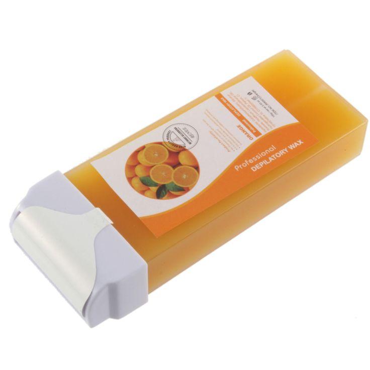 Neue Enthaarungsmittel Orange Wachs Heizpatrone Waxing Haarentfernung Entfernen feste rolle kopf Heißer