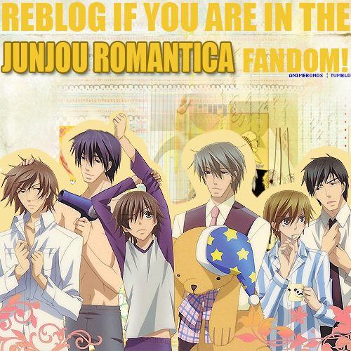 Repin if you're in the Junjou Romantica fandom!