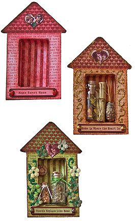fantastic matchbox shrine tutorial - SO sweet! (these could also easily be made for holidays, seasons, occasions, etc)