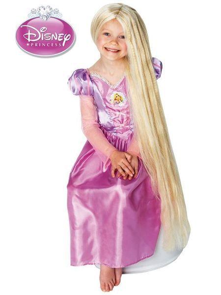 Peruukki: Prinsessa Tähkäpää (Pimeässä hohtava)  Lisensoitu Walt Disney Prinsessa Tähkäpää peruukki. Lasten yhden koon peruukki. Pimeässä hohtava upean kaunis ja pitkä vaalea peruukki. #naamiaismaailma