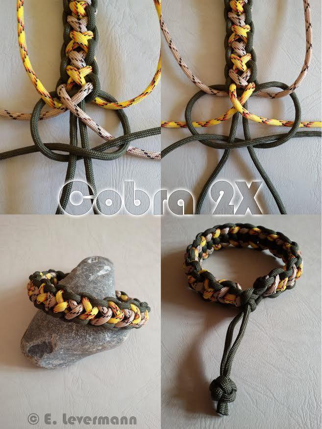 Cobra 2X | Swiss Paracord