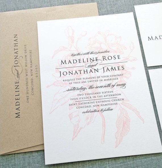 19 best Wedding Stationery images on Pinterest Cards, Invites and - best of wedding invitation samples text