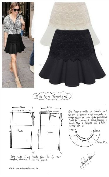 Pin for later...70010Find a great selection of skirt designs and learn how to…