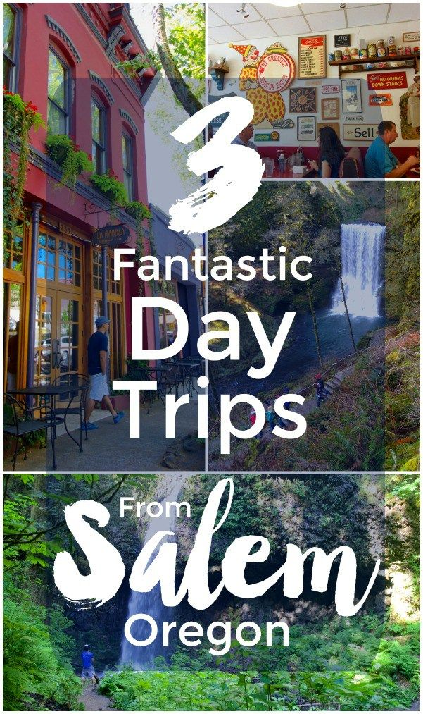 Guide to beautiful hikes and charming towns in the Willamette Valley to visit on a day trip from Salem, Oregon