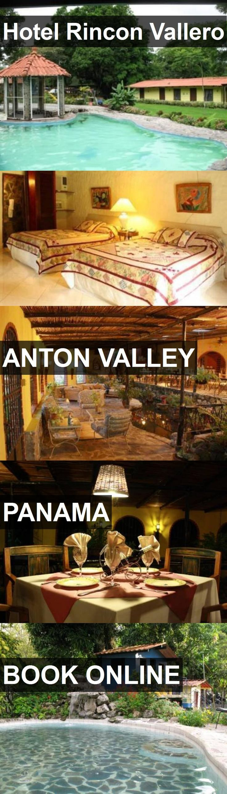 Hotel Rincon Vallero in Anton Valley, Panama. For more information, photos, reviews and best prices please follow the link. #Panama #AntonValley #travel #vacation #hotel