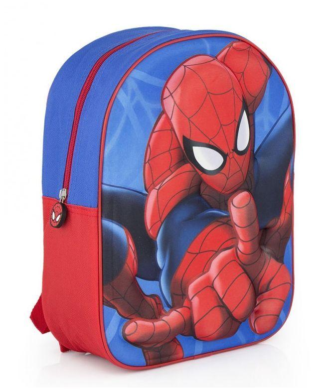 Spiderman rugtas 3D. Stoere rugtas in blauw en rood - Kids Bags and More