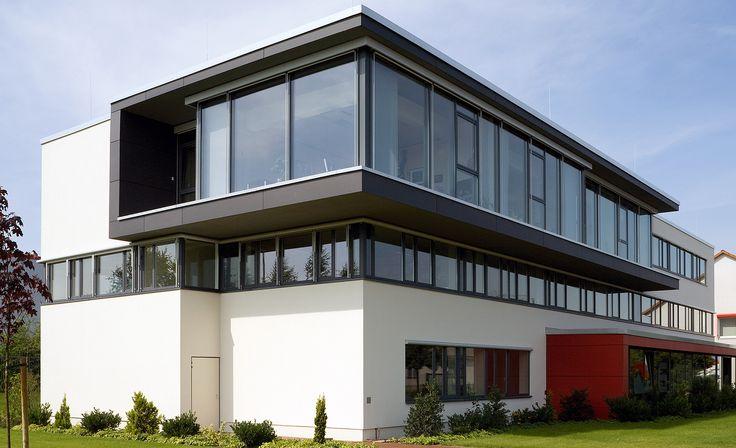 GEALAN acrylcolor windows in grey (RAL 7015) #window