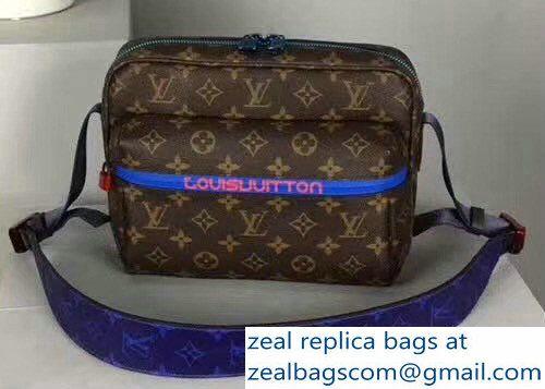 0c28af1c383 Louis Vuitton Men\'s Messenger Monogram Outdoor Bag M43843 2018 ...