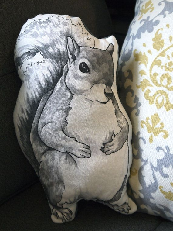 Meet Earl, the squirrel. He is a one of a kind squirrel you would love to sit next to you on the couch for a night in. He measures 12.5 tall and