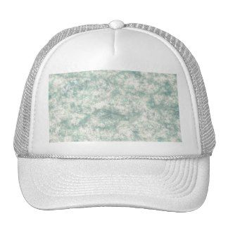 Graphic Art Marble Texture Mesh Hats