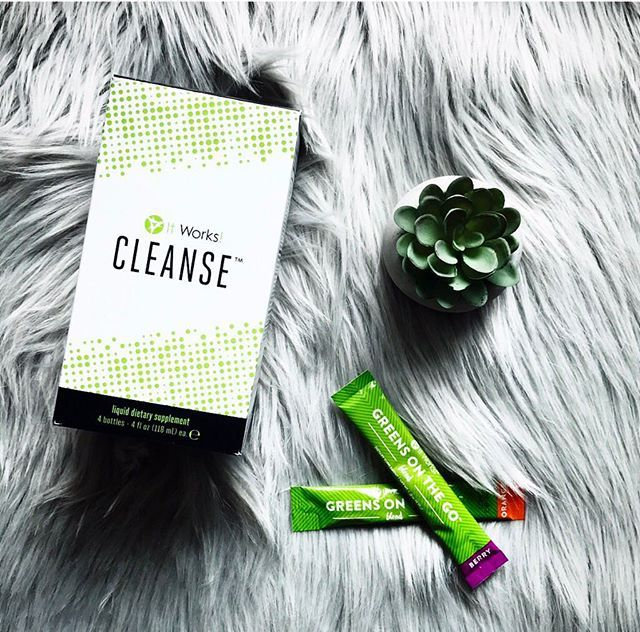 After the weekend, sometimes you just need to Cleanse to start your week off fresh and to help you stay focused on building your biz! Keep GOing  after those bonuses! We know you can do it ! #ItWorksGOGetter