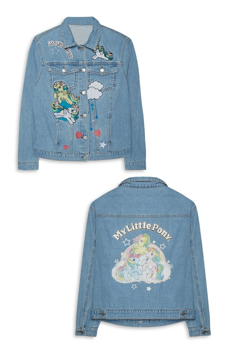 My Little Pony Embroidered Denim Jacket Primark £25