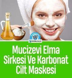Mucizevi Elma Sirkesi ve Karbonat Cilt Maskesi