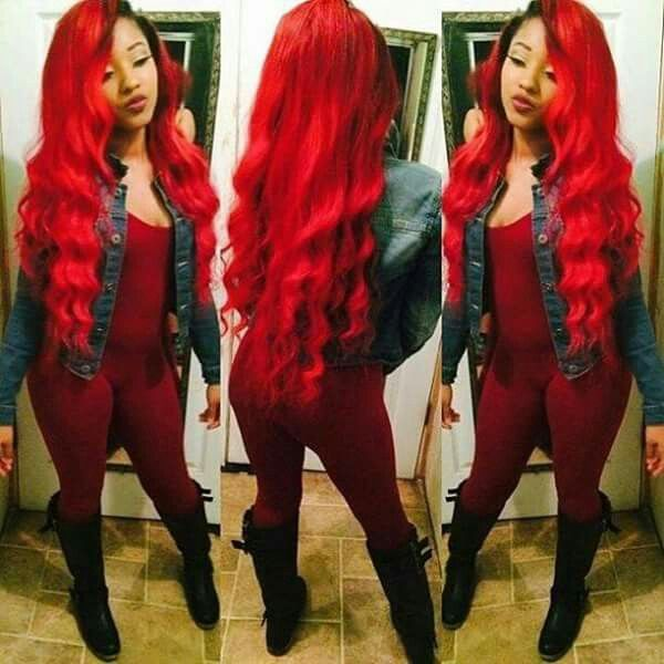 Red weave