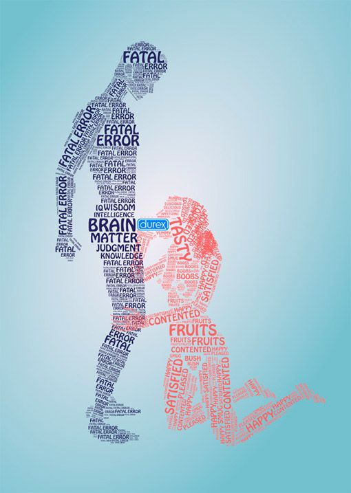 Creative Advertising: Type Sex With Durex