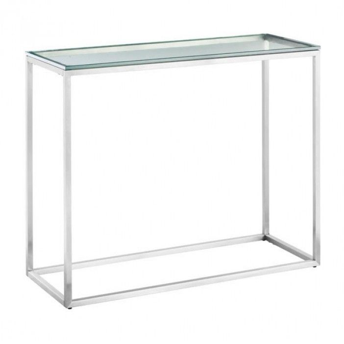 Modern Glass Console Table Sprocket