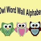 Hello! Owl Word wall alphabet/ Flashcards are the perfect addition to any owl themed room! Use as flashcards or as a word wall alphabet.  Please be...