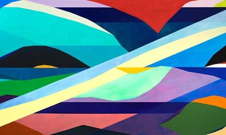 Michael Johnson wins the Wynne Prize for his work Oceania high low