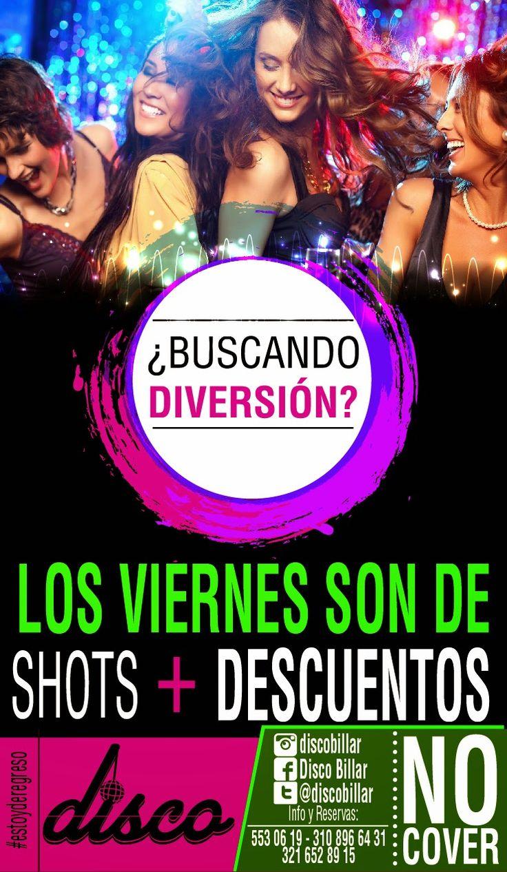 Disco Billar La Ceja: Los Viernes son de Descuento en La Disco // #estoy...