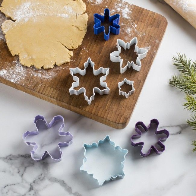 Bake yourself a little Christmas joy with these Wilton cookie cutters.