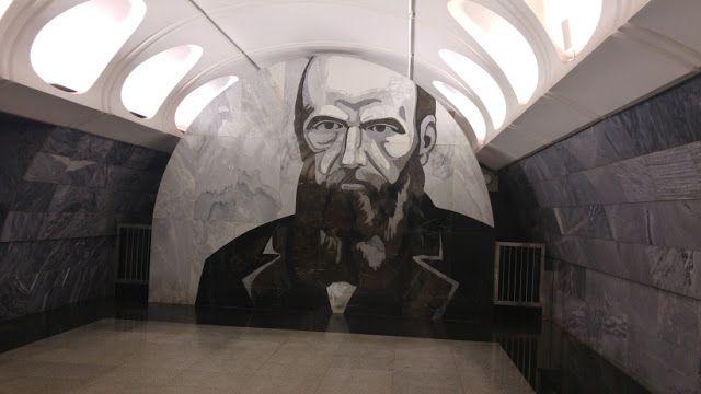 A Dark View Of Dostoevsky On The Moscow Subway  Fyodor Dostoyevsky , «Αδελφοί…
