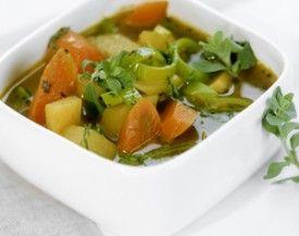 Wintersoep met wortel en pastinaak - Recepten - Culinair - KnackWeekend.be