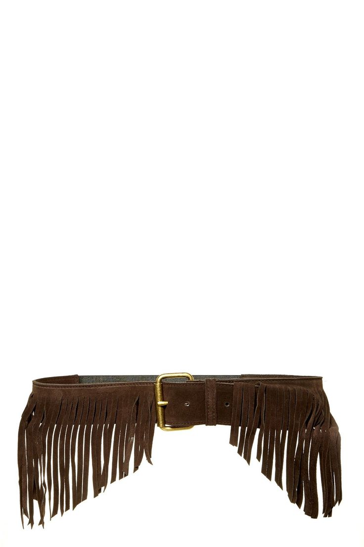 Another style - fringe in front only Farrah Italian Calf Suede Fringe Stretch Belt by JJ Winters on @nordstrom_rack - $85 sale (1/2 off) 1/03/16