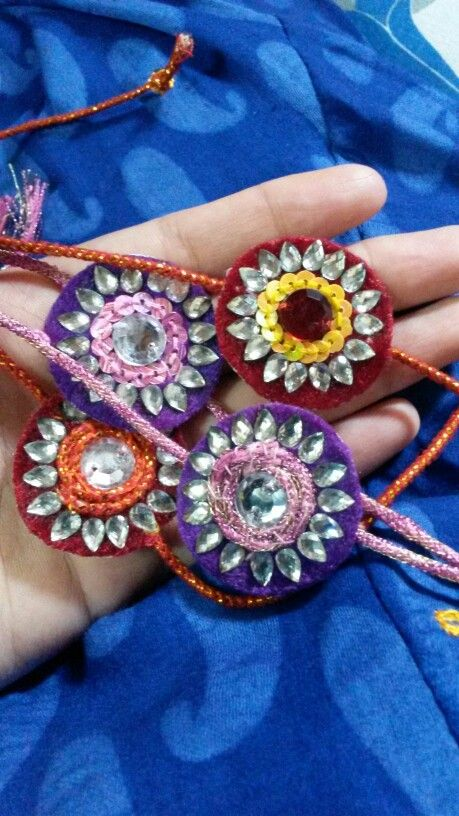 Raksha bandhan threads DIY