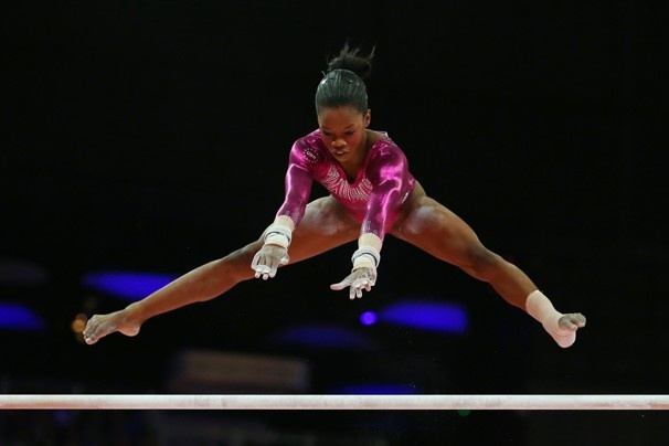 "Gymnast Gabby Douglas soars to women's all-around gold - The Washington Post. ""You have to go out there and be a beast."""