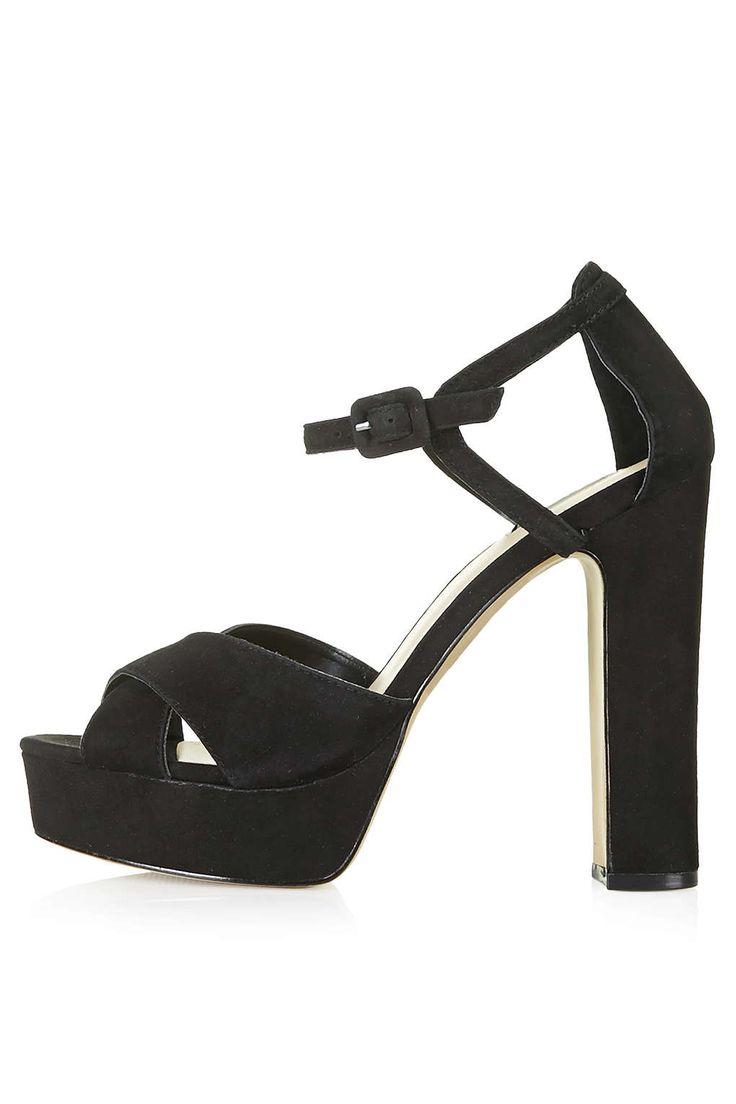 Photo 1 of LOCKET Suede Platform Sandals
