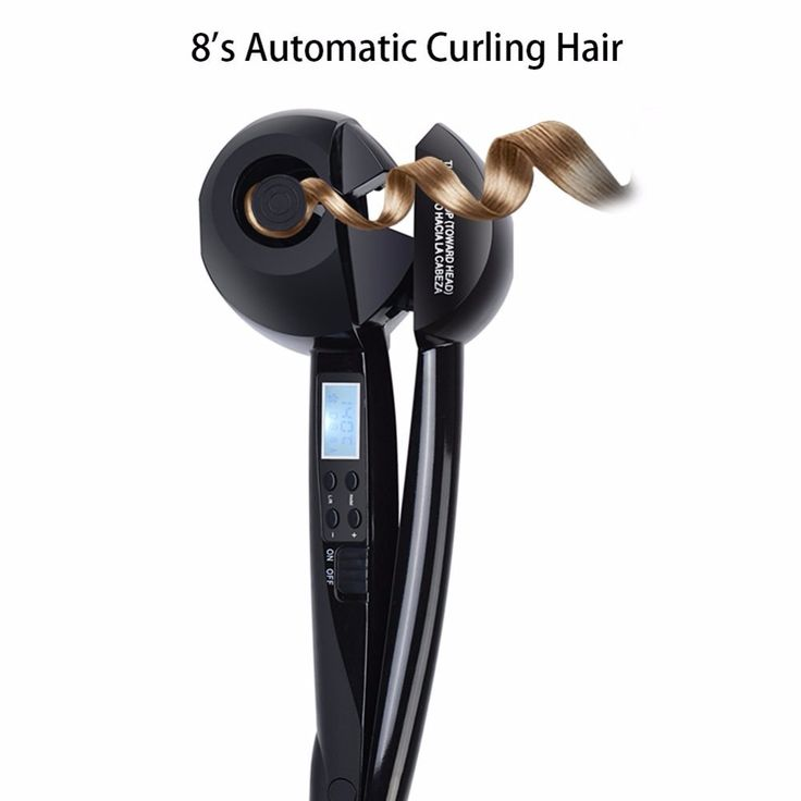Automatic LED Hair Curlers Perm Curl Hair Rolloer Styler hair curlers with plastic spiral professional curling hair