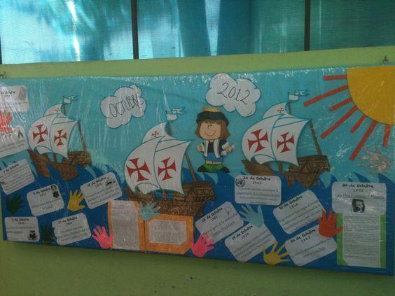 Periódico mural de octubre