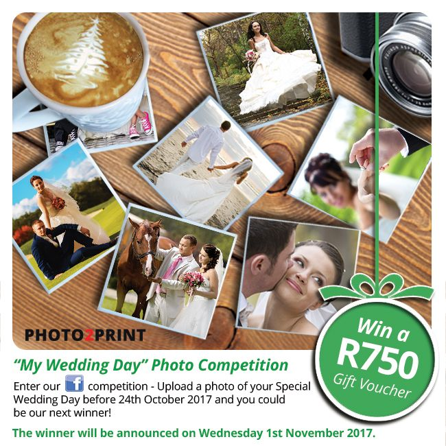 """Enter our Facebook  """"My Wedding Day"""" Photo Competition. https://contest.fbapp.io/my-wedding-day-photo-competition Upload a photo of your special Wedding Day on our Facebook contest page. You could be our next winner!  Entries close on 23rd October 2017 and voting starts 24th October 2017.  #enternow #beawinner"""