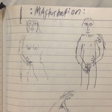 :Masturbation: