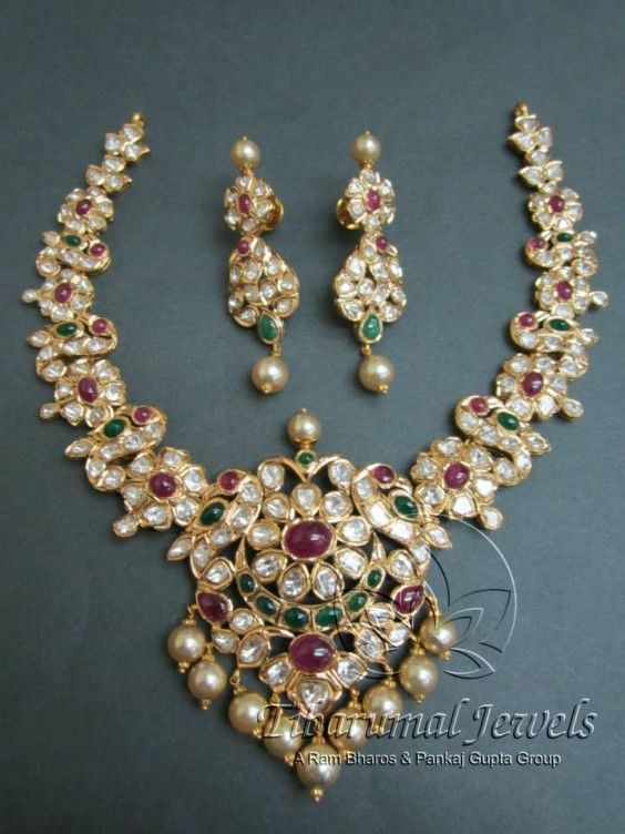 The jewels of the Nizams of Hyderabad    Gemstone Necklaces from TIBARUMAL Jewels