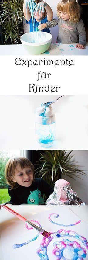 4 Experimente für Kinder mit Wow-Effekt – Kiga