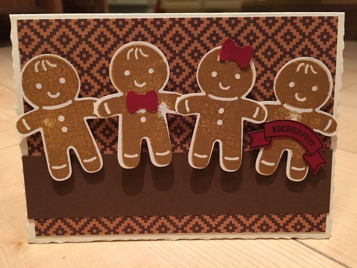 Stampin up- ausgestochen weihnachtlich