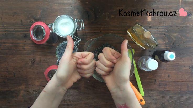 koukněte jak na makový peeling: https://www.youtube.com/watch?v=rLMBsgBZazA