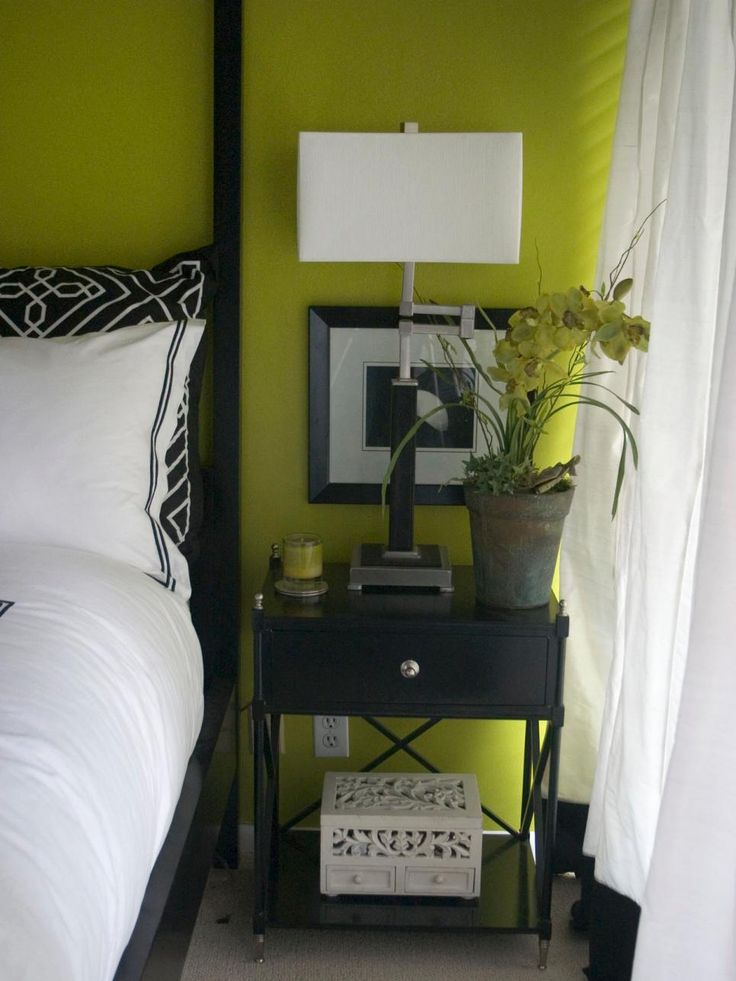 Black And White And Green Bedroom best 10+ lime green bedrooms ideas on pinterest | lime green rooms