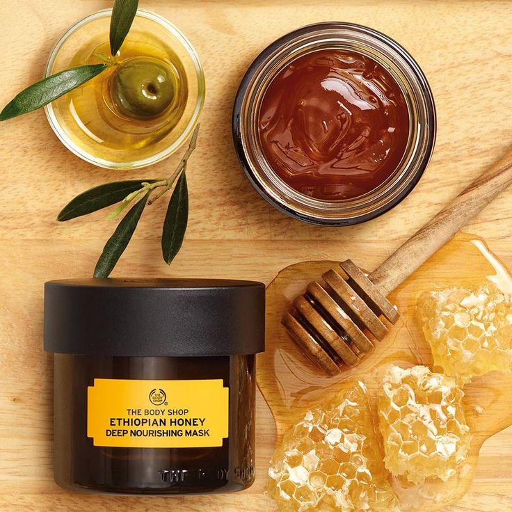 Ethiopian Honey Deep Nourishing Face Mask | The Body Shop ®