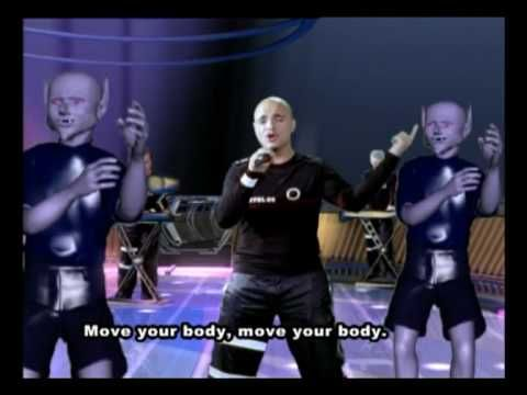 What the hell is happening here?!?!?!? lol Eiffel 65 - Move Your Body (Original Video with subtitles)