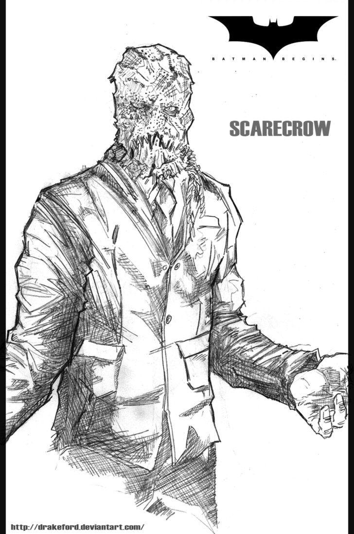 Scarecrow Batman Begins By Drakeford Batman Coloring Pages Scarecrow Batman Scarecrow Batman Begins