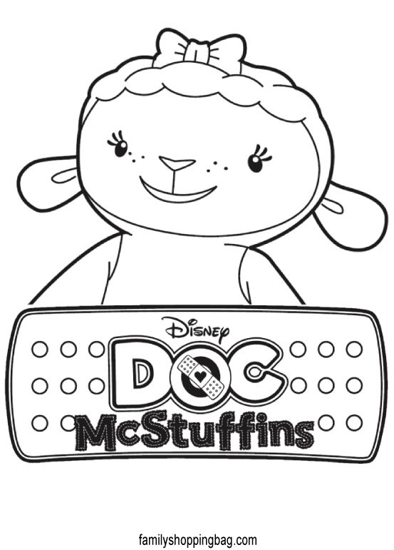 This Cute Coloring Book Page Check Out These Similar Catdoc Mcstuffins Wrapcircular Disableexcerptdatemorevisit