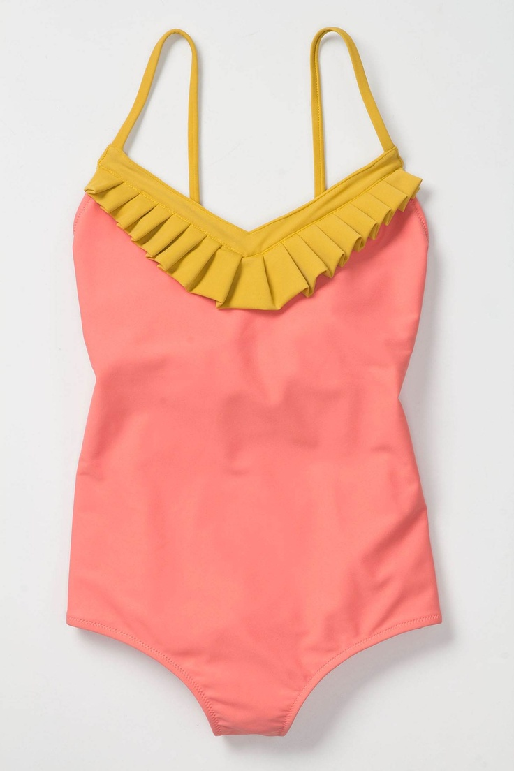 cute: Lemonade Maillot, Ruffle, Colors Combos, One Pieces Swimsuits, Swimsuits Bikinis, Bath Suits, Anthropologie Com, Pink Lemonade, Anthropologie Bikinis Models