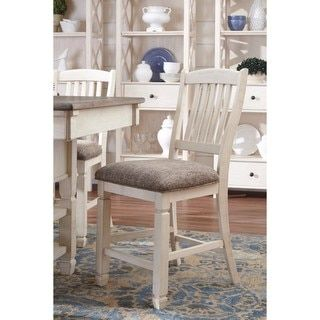 Shop for Signature Design by Ashley Bolanburg Two-tone Upholstered Dining Chair (Set of 2). Get free shipping at Overstock.com - Your Online Furniture Outlet Store! Get 5% in rewards with Club O!