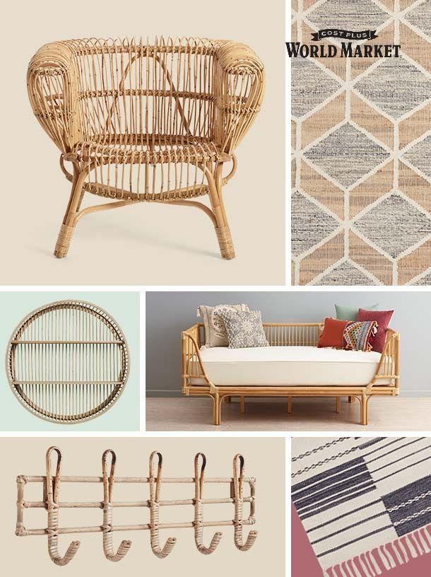 Natural Fiber Furniture And Decortrendsstoriesinspiration Interior Design Living Room Home Decor Trends Trending Decor