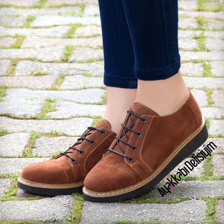 Spor Ayakkabı #brown #shoes #sneakers
