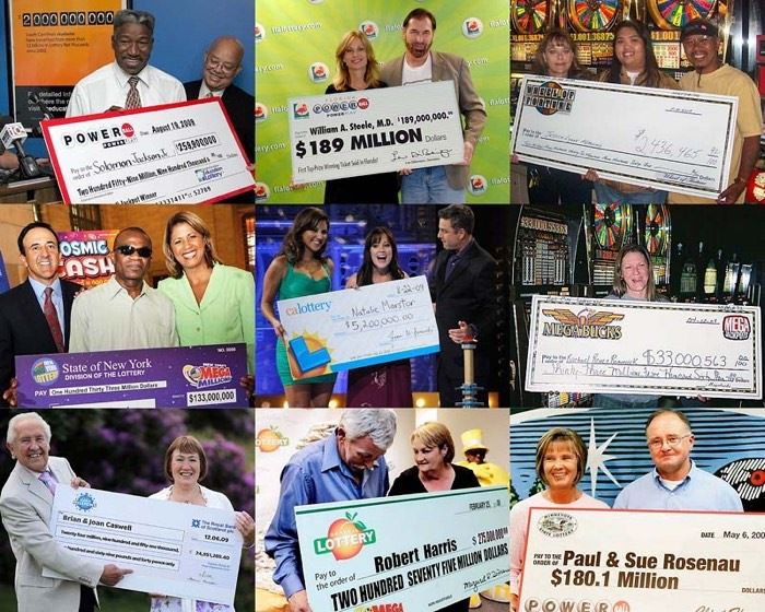 Лотереи — самые крупные выигрыши в истории